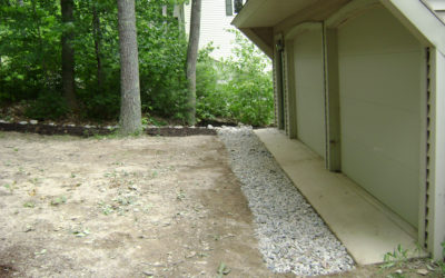 Dripline Trench: Do-It-Yourself Conservation Practices