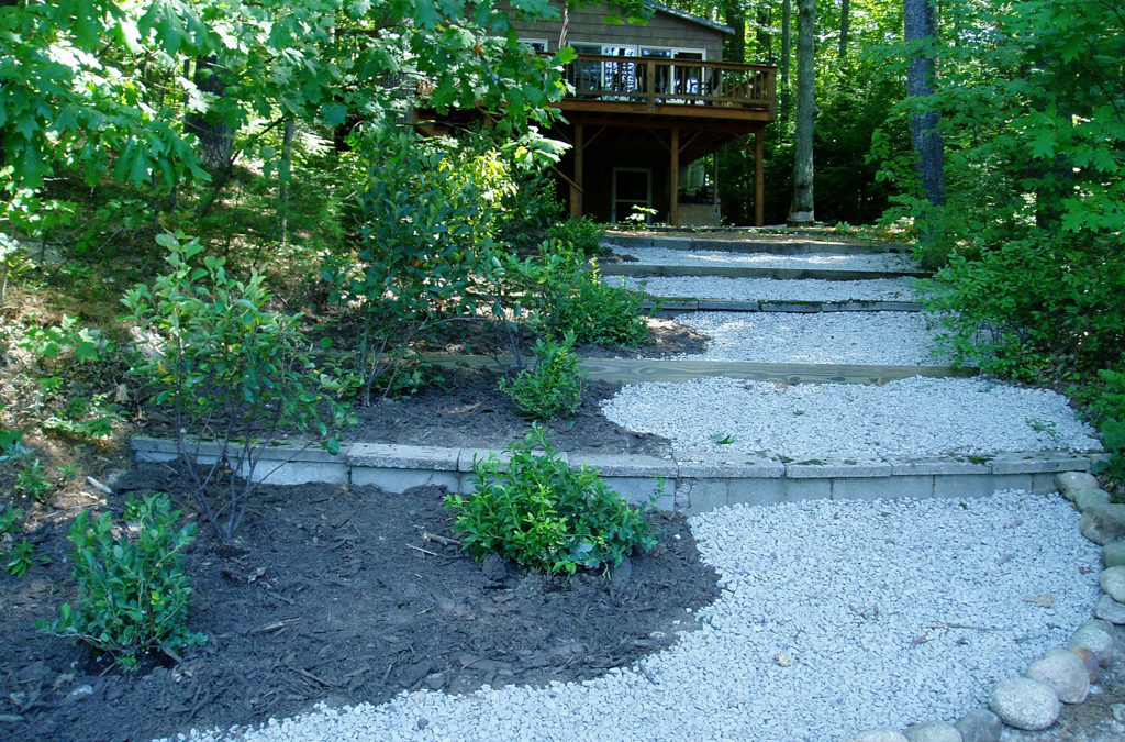 Infiltration Paths & Walkways : Do-It-Yourself Conservation Practices