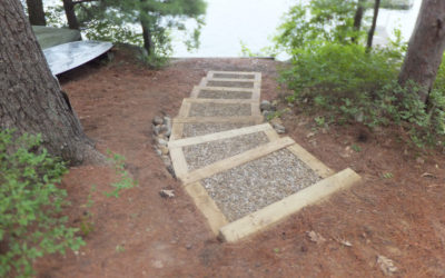 Infiltration Steps: Do-It-Yourself Conservation Practices