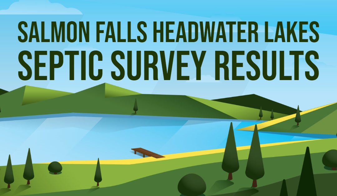 Check out the Results of the Salmon Falls Headwater Lakes Septic Survey